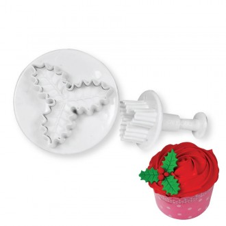 Holly Leaf cutter and plunger