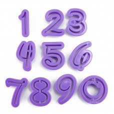 Number Cutters for Fondant