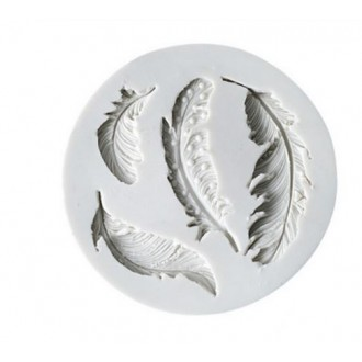 Feathers Silicone mold (4 designs)