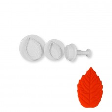 Leaf cutter and plunger (Large set of 3)