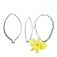 Cattleya Orchid Petal and Leaf Cutter by James Rosselle