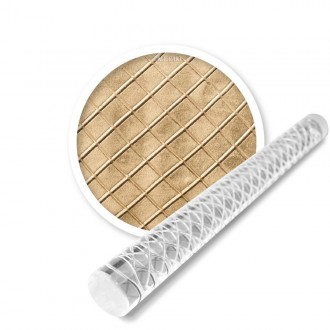 Large Quilted Impression Rolling pin