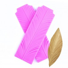 Feather Texture Silicone mold (Long)