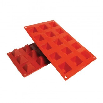 Pyramid Silicone Baking Mold .7 Oz