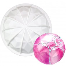 Large Gem Hemisphere Silicone Baking Mold 1 Cavity