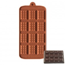 Silicone Moulds for mini Chocolate Bar