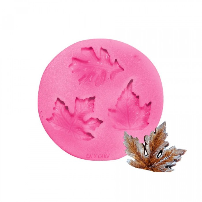 Assorted Leaves Silicone Mold