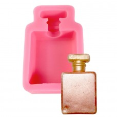3D Perfume Bottle Silicone Mold