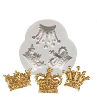 Royal Crown Trio Silicone Mold