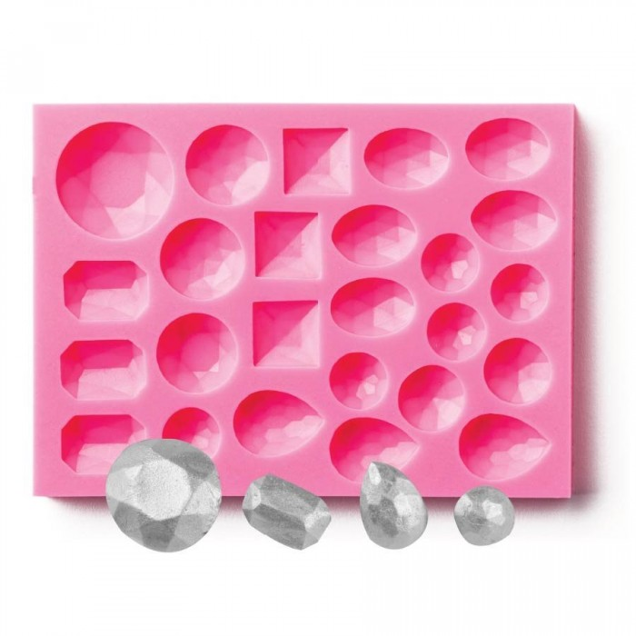 Assorted Gems Silicone Mold