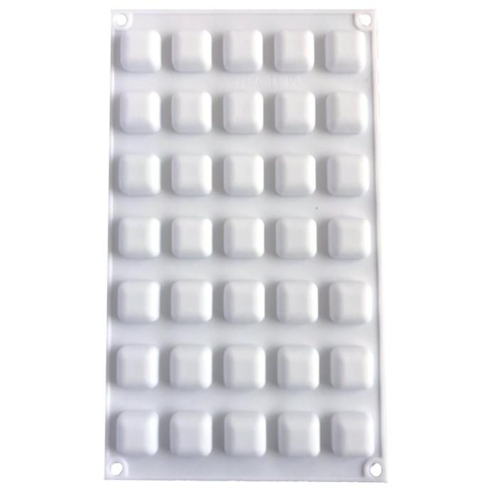 Mini Rounded Square Silicone Baking & Freezing Mold
