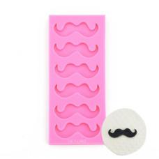 Mustache Silicone Fondant Mold