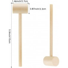 Mallet Hammer for Smash Cake (Wooden)