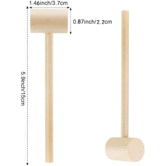 Mallet Hammer for Smash Cake (Wooden)
