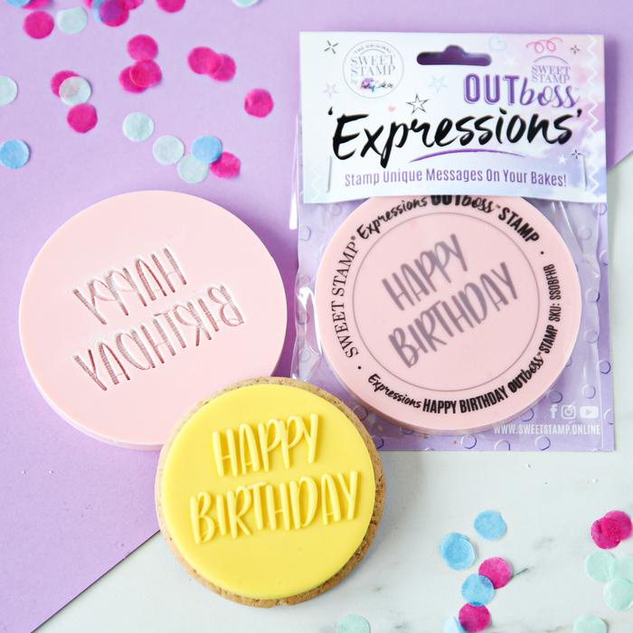 OUTboss™ Expressions - Fun Happy Birthday (Pre-Order)