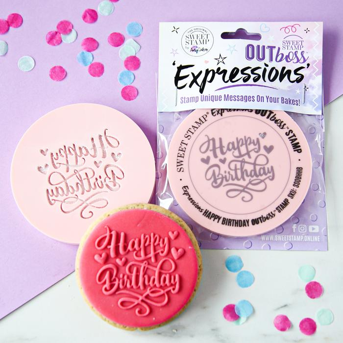 OUTboss™ Expressions - Hearts Happy Birthday (Pre-Order)