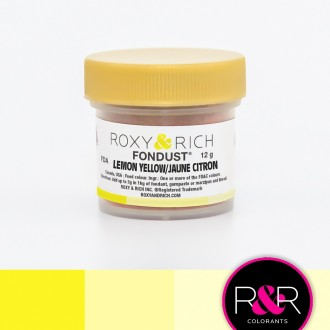 Fondust Lemon Yellow 12gr
