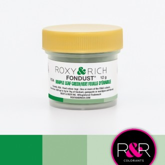Fondust Maple Leaf Green 12gr