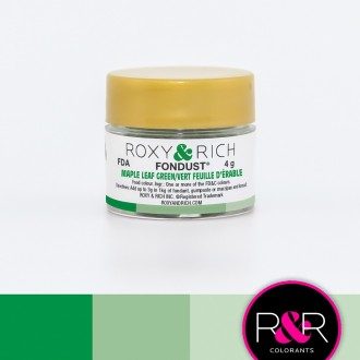 Fondust Maple Leaf Green 4gr