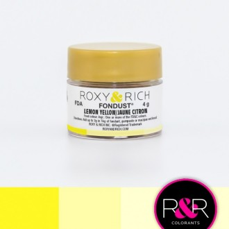 Fondust Lemon Yellow 4gr