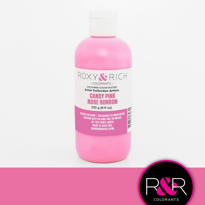Cocoa Butter Candy Pink 8oz (Pre-Order)