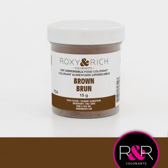 Powder Food Color for Chocolate Brown 15gr.