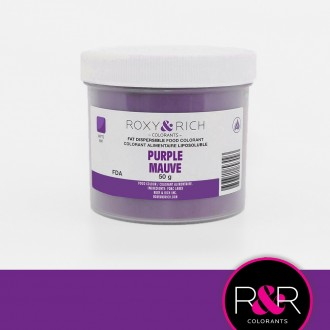 Powder Food Color for Chocolate Lilac Purple 50gr.