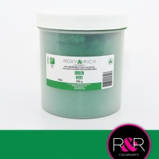 Powder Food Color for Chocolate Emerald Green 250gr.