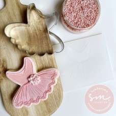 Ballet TuTu Cookie Stamp
