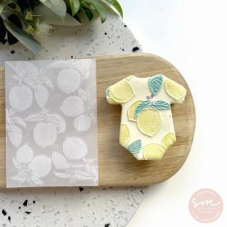 Lemon Pattern Stamp