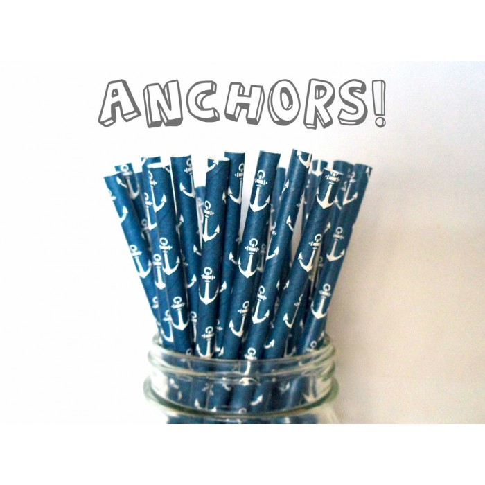 Paper Straws - Anchors
