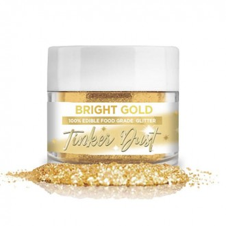 Tinker Dust® Edible Glitter 5gr. - Bright Gold