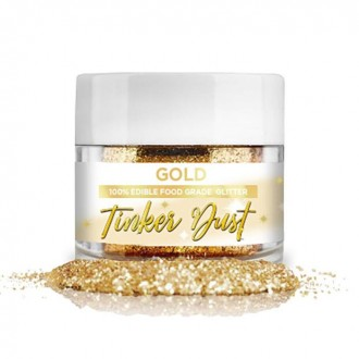 Tinker Dust® Edible Glitter 5gr. - Gold