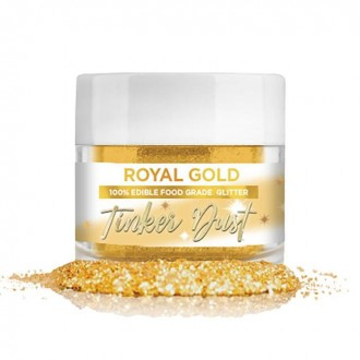 Tinker Dust® Edible Glitter 5gr. - Royal Gold