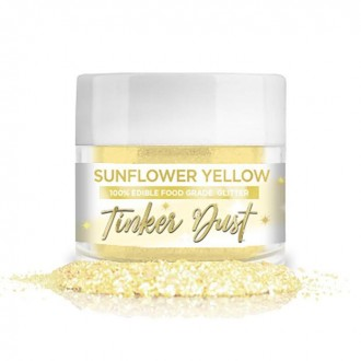 Tinker Dust® Edible Glitter 5gr. - Sunflower Yellow
