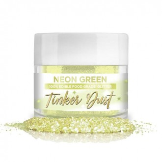 Tinker Dust® Edible Glitter 5gr. - Neon Green