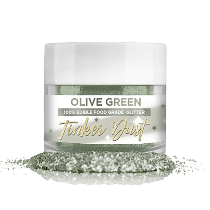Tinker Dust® Edible Glitter 5gr. - Olive Green