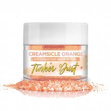 Tinker Dust® Edible Glitter 5gr. - Creamsicle Orange