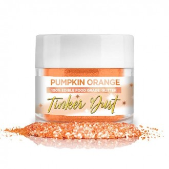 Tinker Dust® Edible Glitter 5gr. - Pumpkin Orange