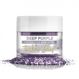 Tinker Dust® Edible Glitter 5gr. - Deep Purple