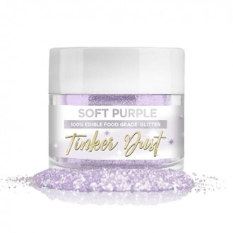 Tinker Dust® Edible Glitter 5gr. - Soft Purple