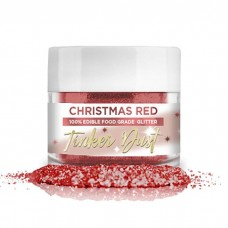 Tinker Dust® Edible Glitter 5gr. - Christmas Red