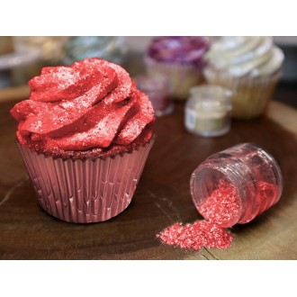 Tinker Dust® Edible Glitter 5gr. - Classic Red