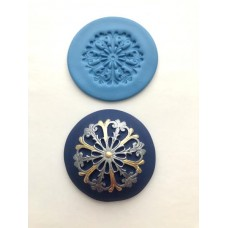 Filigree Snowflake Embossing Silicone Mold Mat