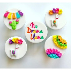 Fiesta Set with Llama Silicone Mold