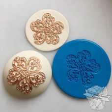 China Rose Embossing Silicone Mold Mat