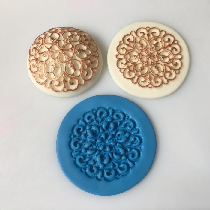Vintage Embossing Silicone Mold Mat