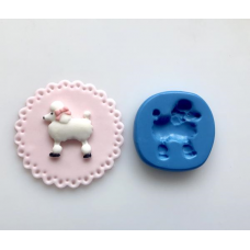 Poodle Silicone Mold