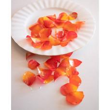 Edible Rose Petals - Orange