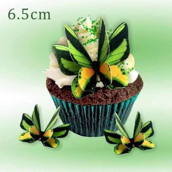 Wafer Paper Edible Precut Butterflies (12 Pieces)